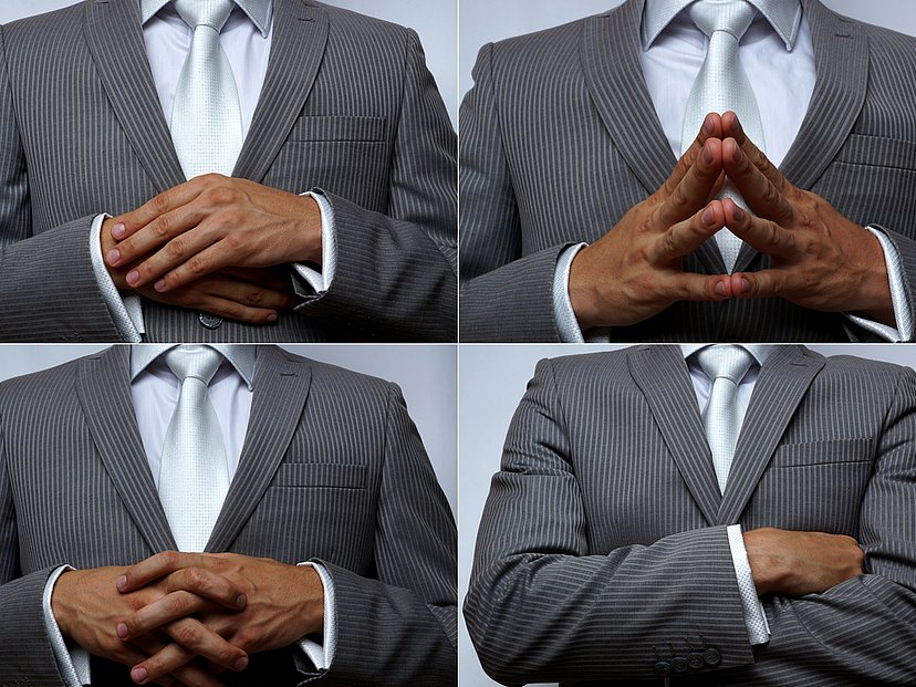 Nonverbale kommunikation körperhaltung