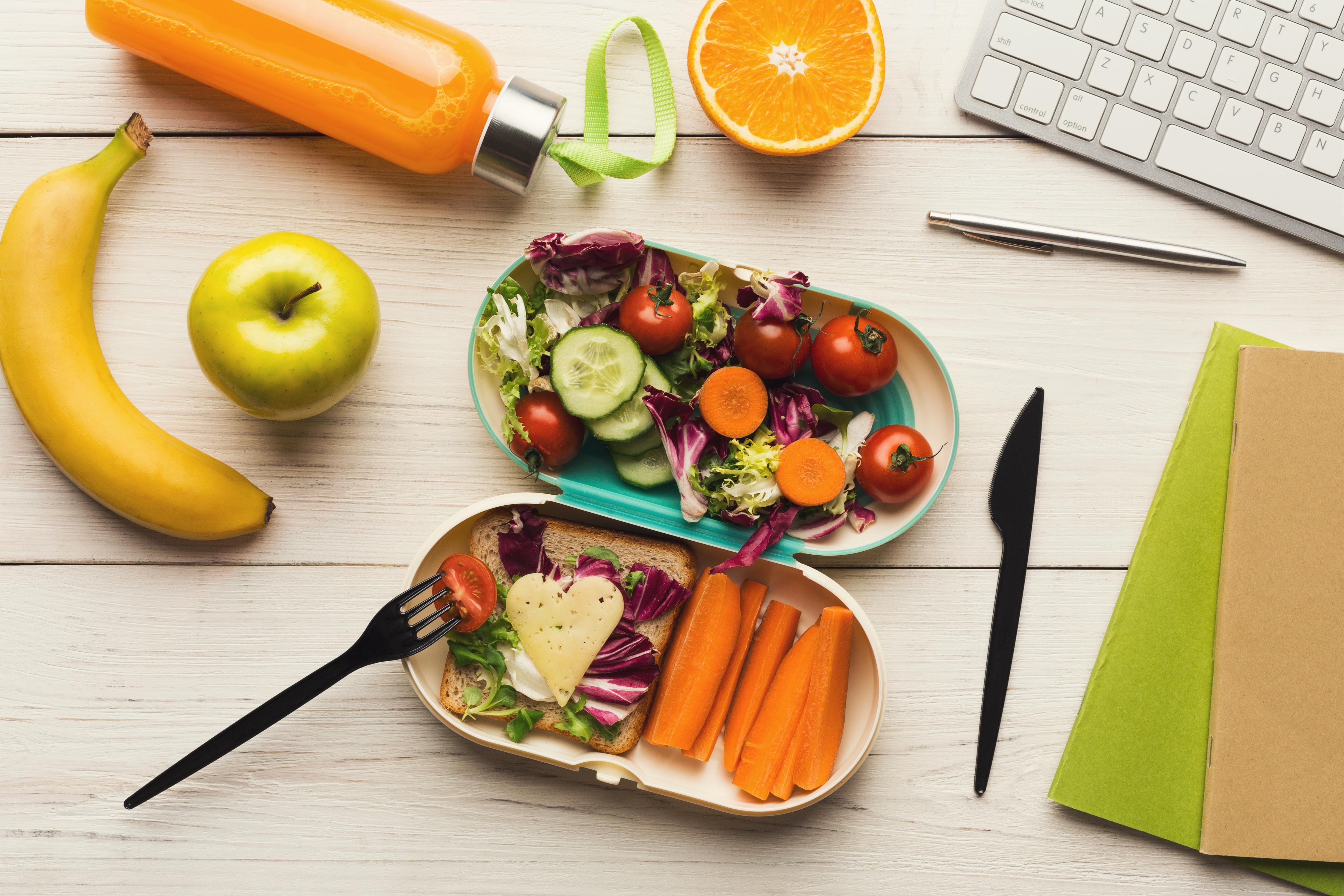 Wie man sich jeden Tag ausgewogen ernährt